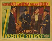 Invisible Stripes - 11 x 14 Movie Poster - Style A