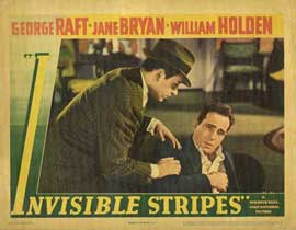 Invisible Stripes - 11 x 14 Movie Poster - Style B