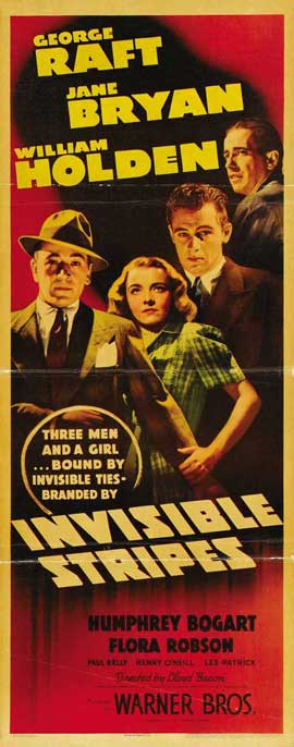 Invisible Stripes - 14 x 36 Movie Poster - Insert Style A