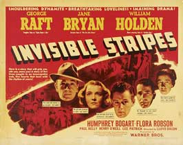 Invisible Stripes - 22 x 28 Movie Poster - Half Sheet Style A