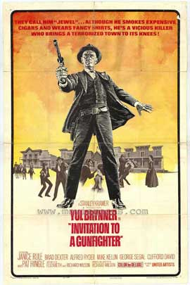 Invitation to a Gunfighter - 11 x 17 Movie Poster - Style A