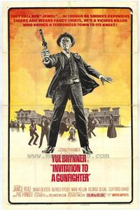 Invitation to a Gunfighter - 27 x 40 Movie Poster - Style A