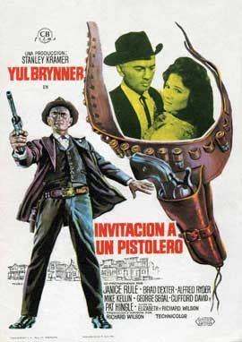 Invitation to a Gunfighter - 11 x 17 Movie Poster - Spanish Style A