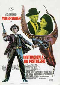 Invitation to a Gunfighter - 27 x 40 Movie Poster - Spanish Style A