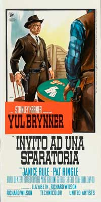 Invitation to a Gunfighter - 13 x 28 Movie Poster - Italian Style A