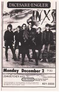 Inxs - Music Poster - 11 x 17 - Style A