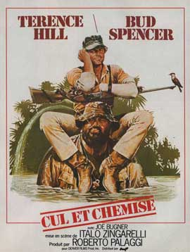 Io sto con gli ippopotami - 11 x 17 Movie Poster - French Style A
