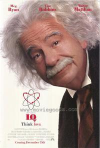 I.Q. - 11 x 17 Movie Poster - Style B
