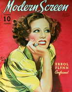 Irene Dunne - 11 x 17 Modern Screen Magazine Cover 1930's Style B