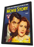 Irene Dunne - 11 x 17 Movie Story Magazine Cover 1940's - in Deluxe Wood Frame