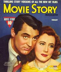 Irene Dunne - 27 x 40 Movie Poster - Movie Story Magazine Cover 1940's