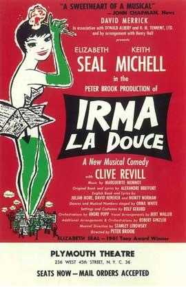 Irma La Douce (Broadway) - 11 x 17 Poster - Style A
