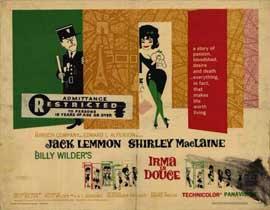 Irma La Douce - 11 x 14 Movie Poster - Style H