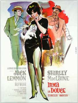 Irma La Douce - 11 x 17 Movie Poster - French Style A