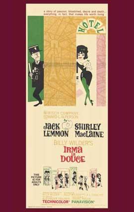Irma La Douce - 11 x 17 Movie Poster - Style B