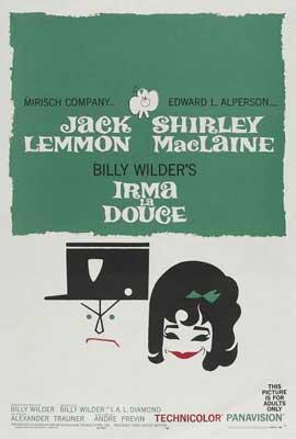 Irma La Douce - 27 x 40 Movie Poster - Style C