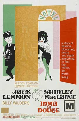 Irma La Douce - 27 x 40 Movie Poster - Australian Style A