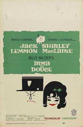 Irma La Douce - 11 x 17 Movie Poster - Style D