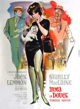 Irma La Douce - 27 x 40 Movie Poster - French Style A