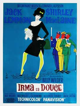 Irma La Douce - 27 x 40 Movie Poster - French Style B