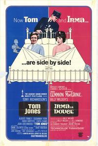 Irma La Douce/Tom Jones - 11 x 17 Movie Poster - Style A