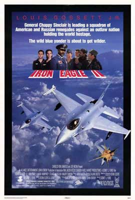 Iron Eagle 2 - 11 x 17 Movie Poster - Style A