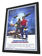 Iron Eagle - 11 x 17 Movie Poster - Style A - in Deluxe Wood Frame