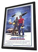 Iron Eagle - 27 x 40 Movie Poster - Style A - in Deluxe Wood Frame