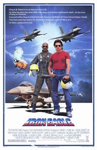 Iron Eagle - 11 x 17 Movie Poster - Style A - Museum Wrapped Canvas