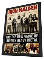Iron Maiden and the New Wave of British Heavy Metal - 11 x 17 Movie Poster - Style A - in Deluxe Wood Frame