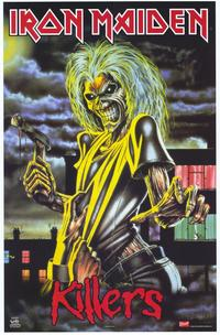 Iron Maiden - Music Poster - 22 x 34 - Style A