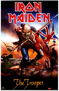 Iron Maiden - Music Poster - 22 x 34 - Style D