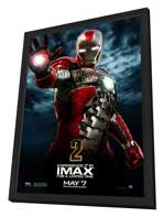 Iron Man 2 - 11 x 17 Movie Poster - Style S - in Deluxe Wood Frame
