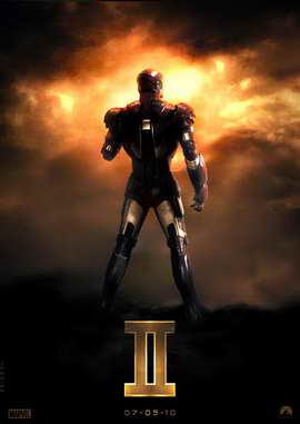 Iron Man 2 - 11 x 17 Movie Poster - Style B