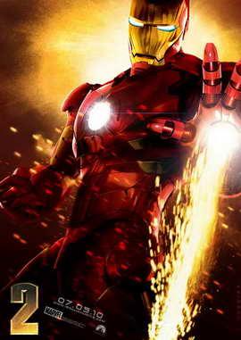 Iron Man 2 - 11 x 17 Movie Poster - Style C