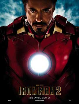 Iron Man 2 - 27 x 40 Movie Poster - French Style A