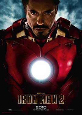 Iron Man 2 - 11 x 17 Movie Poster - German Style A