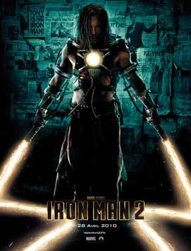Iron Man 2 - 27 x 40 Movie Poster - French Style B