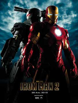 Iron Man 2 - 27 x 40 Movie Poster - French Style C