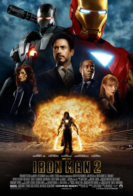 Iron Man 2 - 43 x 62 Movie Poster - Bus Shelter Style B