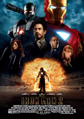 Iron Man 2 - 27 x 40 Movie Poster - Spanish Style A