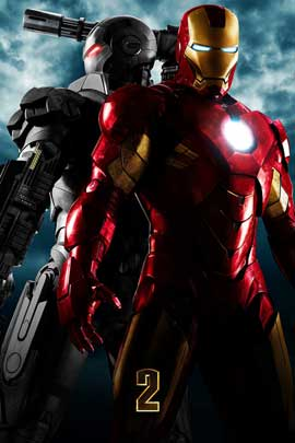 Iron Man 2 - 11 x 17 Movie Poster - Style P