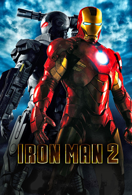 Iron Man 2 - 43 x 62 Movie Poster - Bus Shelter Style C