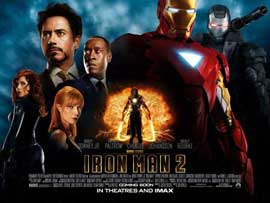 Iron Man 2 - 22 x 28 Movie Poster - Half Sheet Style A