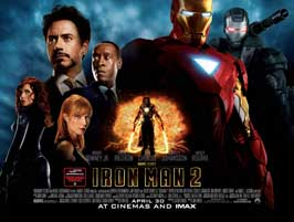 Iron Man 2 - 30 x 40 Movie Poster UK - Style A