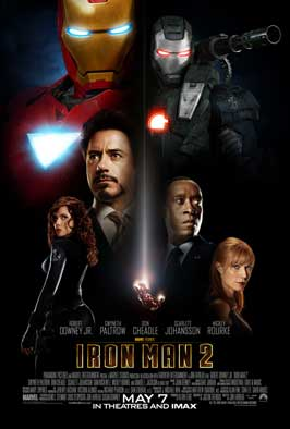 Iron Man 2 - 11 x 17 Movie Poster - Style D - Double Sided