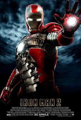 Iron Man 2 - 11 x 17 Movie Poster - Italian Style D