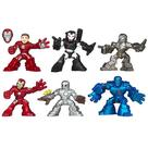 Iron Man - 3 Superhero Squad Movie Figures Wave 1 Set