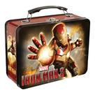 Iron Man - 3 Movie Large Tin Tote Lunch Box