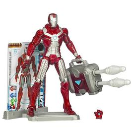 Iron Man - 2 Movie Mark V Suitcase Armor Action Figure